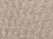 Glatter Strick Stoff Monaco- beige melange