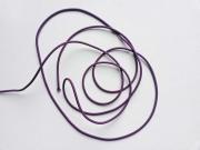Gummikordel 3 mm, lila