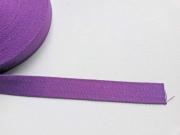 Gurtband Baumwolle 2,5 cm breit, lila 89