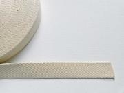 Gurtband-2,5cm breit, natur #51