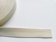Gurtband Baumwolle 3 cm breit, natur 51