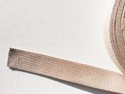Gurtband Baumwolle 3 cm breit, dunkelbeige 41