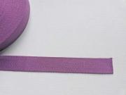 Gurtband Baumwolle 3 cm breit, lila 89