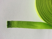 Gurtband Baumwolle 3,0 cm breit - limette #16