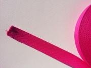 Gurtband Baumwolle 3,0 cm breit - pink #73