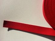 Gurtband Baumwolle 3,0 cm breit - rot #8