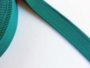 BW Polyester Gurtband 3,8 cm breit, aquamarin
