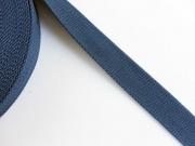 BW Polyester Gurtband 3,8 cm breit, dk jeansblau