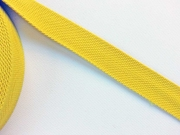 BW/Polyester Gurtband 3,8 cm breit, gelb