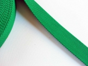 BW/Polyester Gurtband 3,8 cm breit, grasgrün