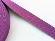 BW Polyester Gurtband 3,8 cm breit, helle Pflaume