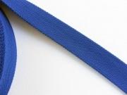 BW/Polyester Gurtband 3,8 cm breit, kobaltblau