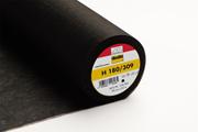 H180 aufbügelbares Vlies Freudenberg, schwarz