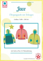 Jace Übergangsjacke für Kinder Schnittmuster