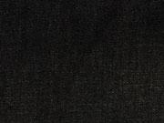 RESTSTÜCK 48 CM Leichter Jeansstoff/ Chambray ähnlich, schwarz
