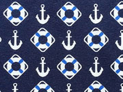 Jersey Anker & Rettungsringe, dunkelblau