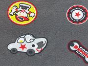 Jersey Autos & Plaketten, grau