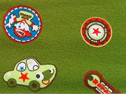 Jersey Autos & Plaketten, grün