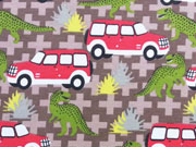 Jersey Dinos & Jeeps - braun