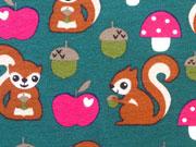 Jersey Eichhörnchen, petrol