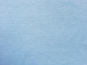 Jersey Melange, hellblau