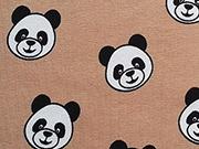 Jersey Panda Pleasure, beige