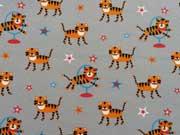 Jersey Zirkus Tiger - grau