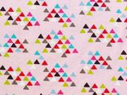 Jersey Mexikanische Dreiecke, rosa