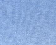 Jersey Melange - jeansblau