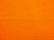 Jerseystoff uni, sehr kräftiges orange