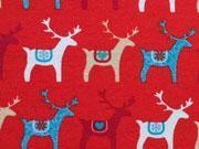 Jersey Joy - Rentiere auf rot
