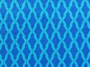 Kabloom  Blue Harlequin-blau/türkis