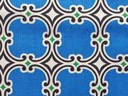 Kabloom  Blue Medaillons-blau/weiß