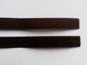 Klettband Klettverschluß  2 cm, braun