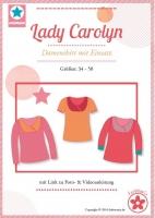 Lady Carolyn Damenshirt mit Einsatz Schnittmuster