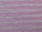 Leichter Strick Streifen, cremeweiss rosa