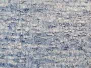Leichter Strick - jeansblau melange
