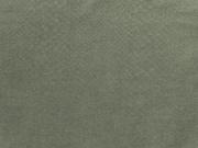 RESTSTÜCK 40 cm Leichter Jeans mit Schlangenleder Look, oliv