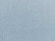 RESTSTÜCK 45 cm Leinen uni - hellblau