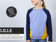 Lille Sweater mit Teilungsnähten Schnittmuster