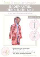 Lillesol Basics No. 6 Bademantel Schnittmuster