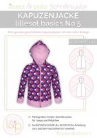 Lillesol Basics No.5 Kapuzenjacke Schnittmuster