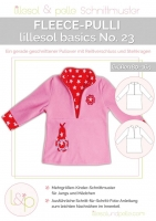 Lillesol Basics No.23 Fleece-Pulli Schnittmuster