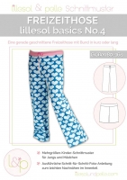 Lillesol Basics No.4 Freizeithose Schnittmuster