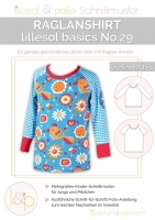 Lillesol Basics No.29 Raglan-Shirt Schnittmuster