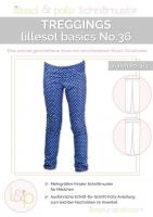 Lillesol Basics No.36 Treggings Schnittmuster