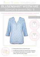 Lillesol No.6 Blusenshirt Webware Schnittmuster