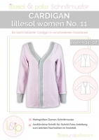 Lillesol Woman No.11 Cardigan Schnittmuster
