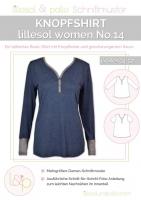 Lillesol Woman No.14 Knopfshirt Schnittmuster
