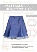 Lillesol Woman No.9 Zwei-Lagen-Rock Schnittmuster